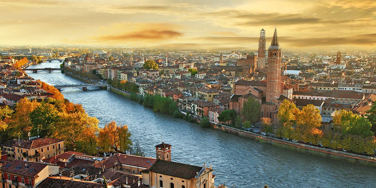 A Walk Through Romantic Verona
